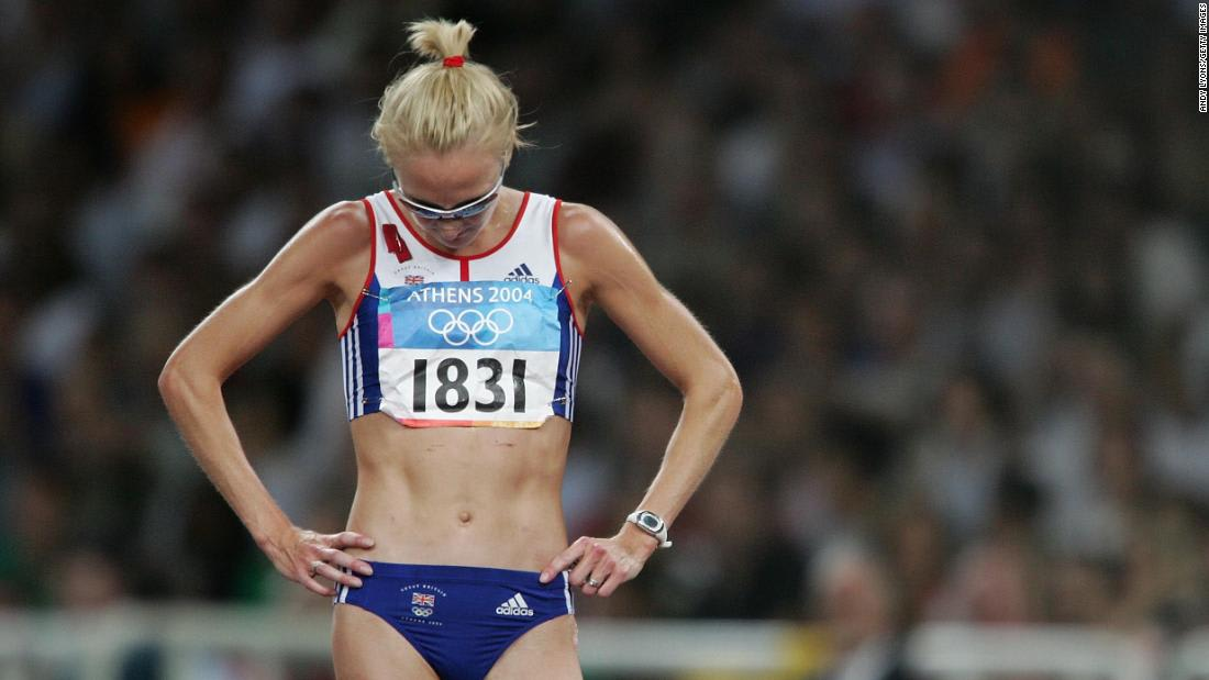 How I fought back against 'quitter' label: Long-distance running legend on Simone Biles