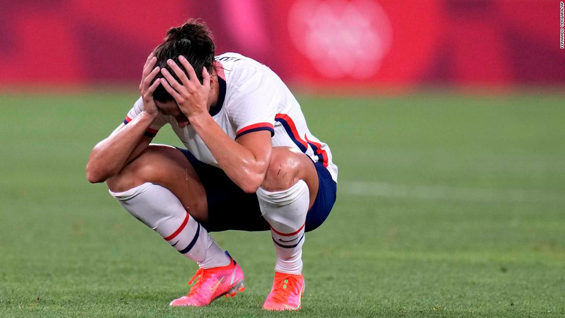 USWNT beaten by Canada in semifinals as gold medal bid ends at Tokyo 2020