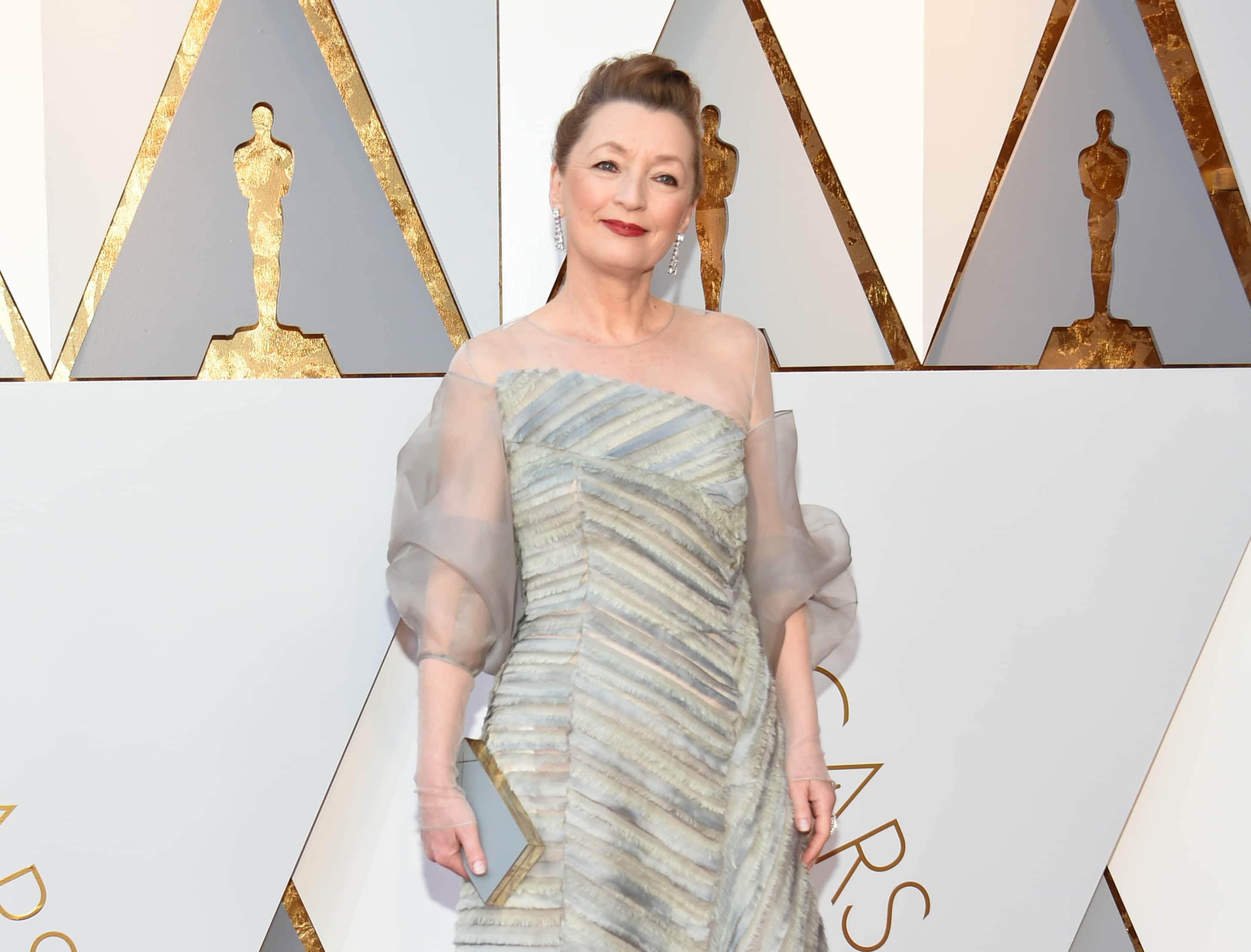 The real 'Phantom Thread': Lesley Manville's dress fitting for the Oscars