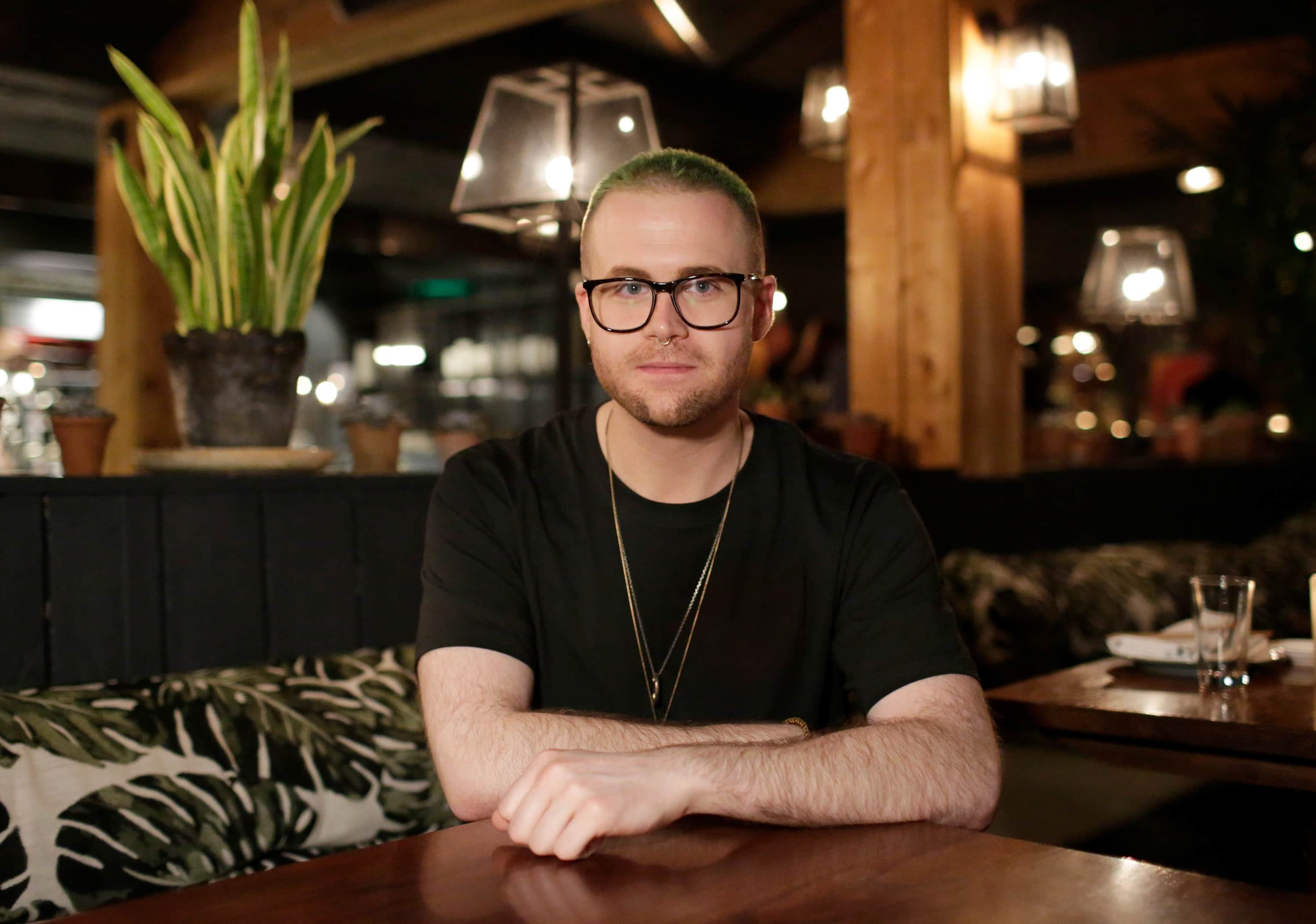 OXFORDSHIRE, ENGLAND - NOVEMBER 29: Christopher Wylie attends the Salons during #BoFVOICES on November 29, 2018 in Oxfordshire, England. (Photo by John Phillips/Getty Images for The Business of Fashion)