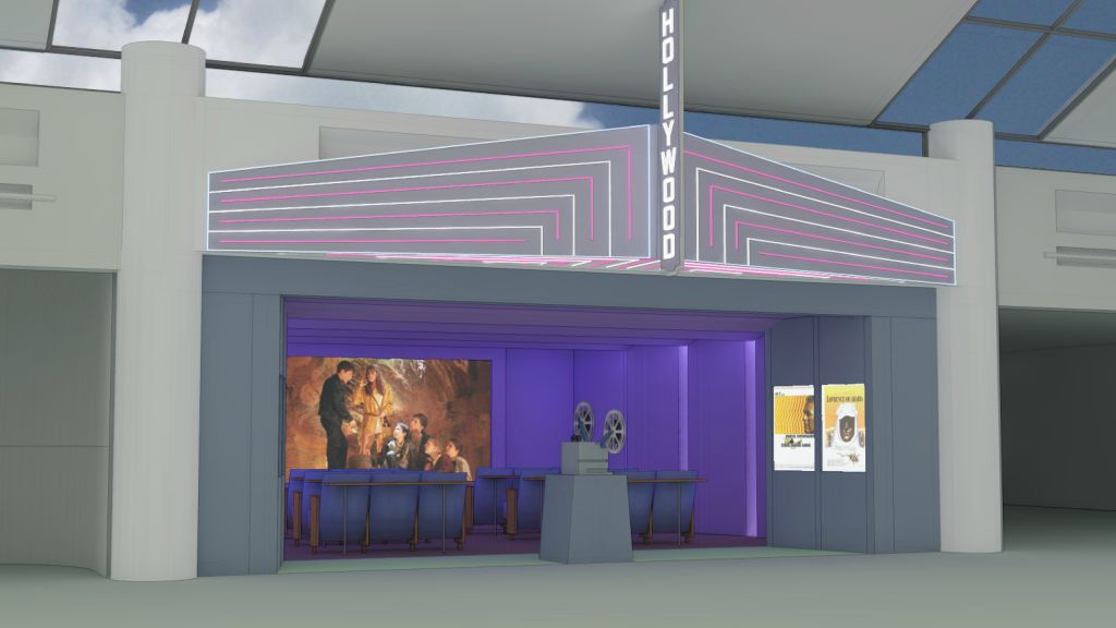 PDX Is Creating A Vintage Style Cinema For Passengers On The Go.