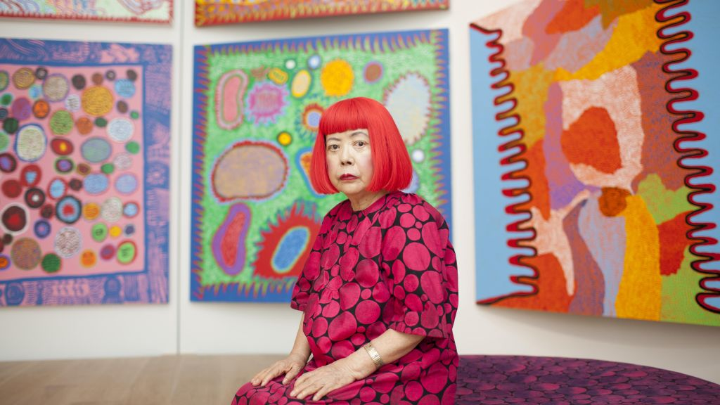 Yayoi Kusama unveils new work in London - CNN Style