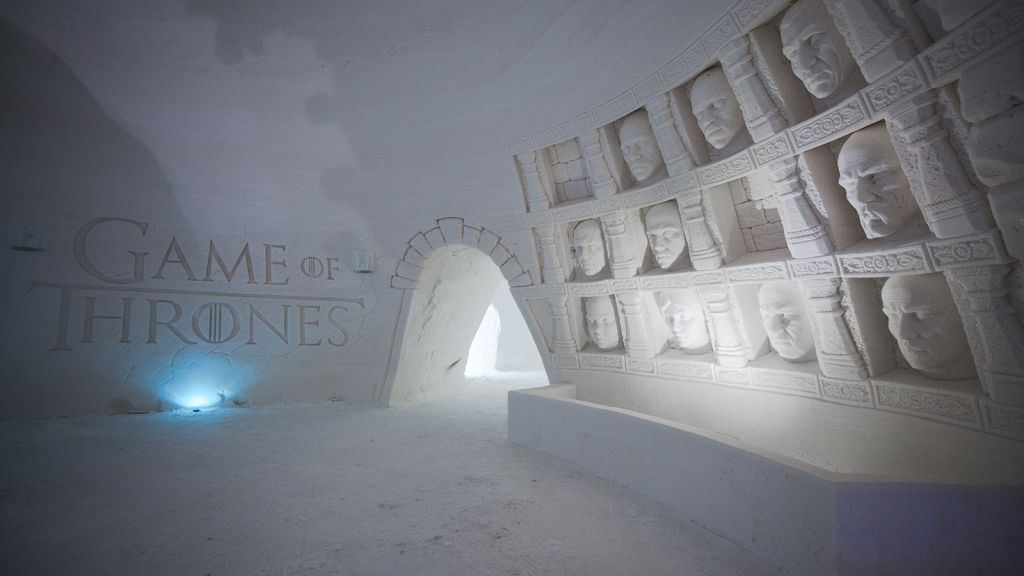Resultado de imagen para Game of Thrones / Lapland Hotels SnowVillage