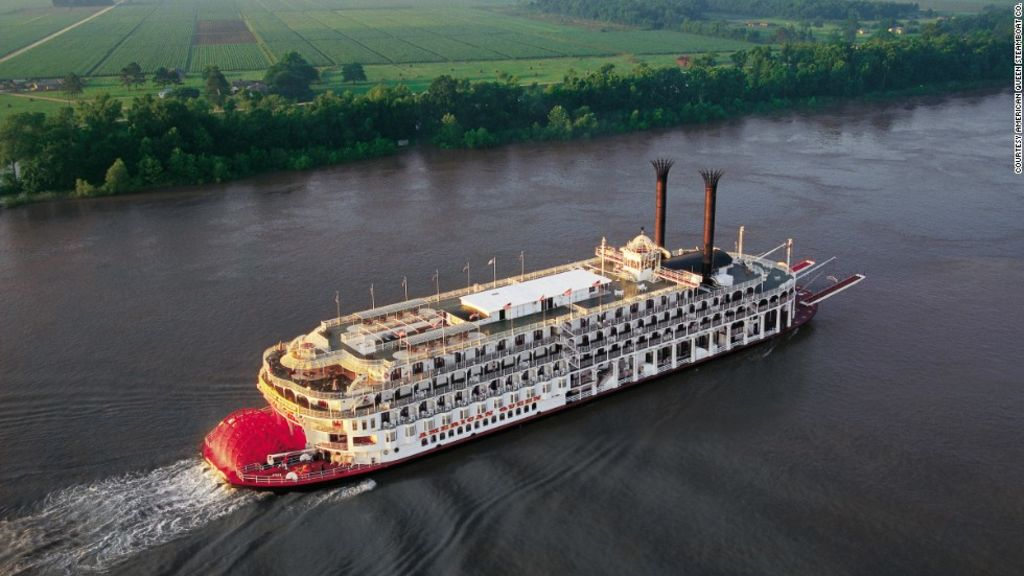 US River Cruises Get Your Americana Via Its Waterways CNN - Us river transportation map