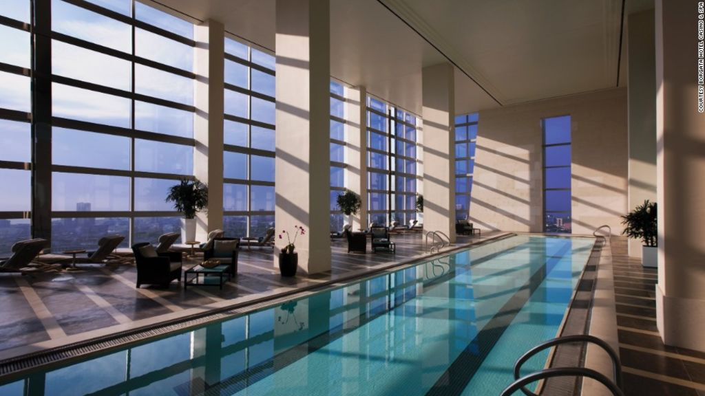 8 of the best indoor hotel pools around the world