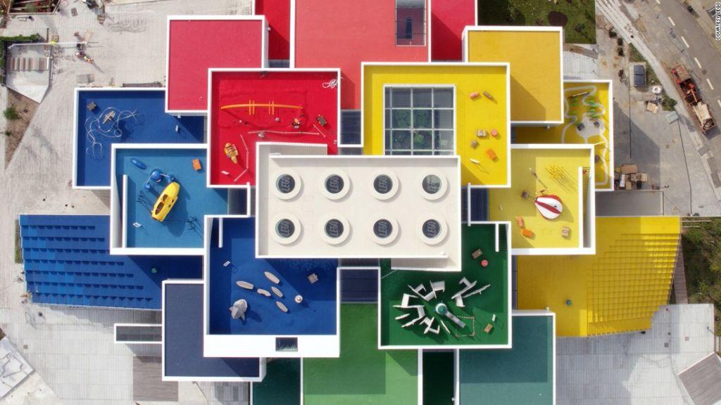 Pictures House inside denmark's giant lego house | cnn travel