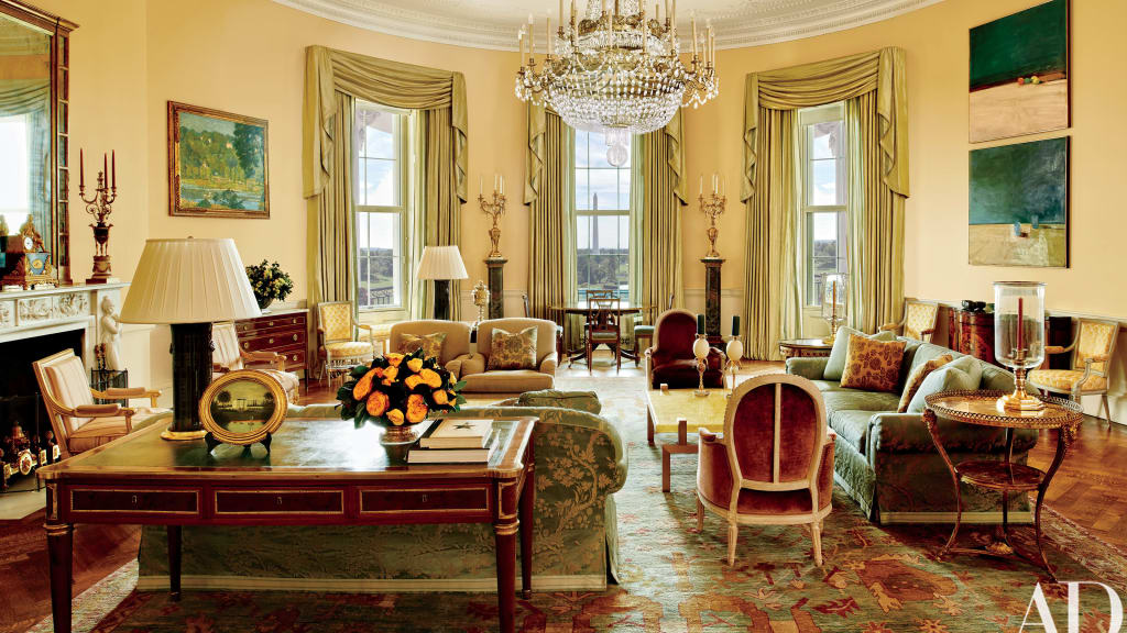 01 obama white house architectural digest - White House Design