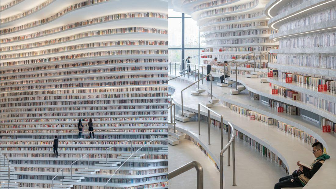 Bildergebnis für Tianjin library