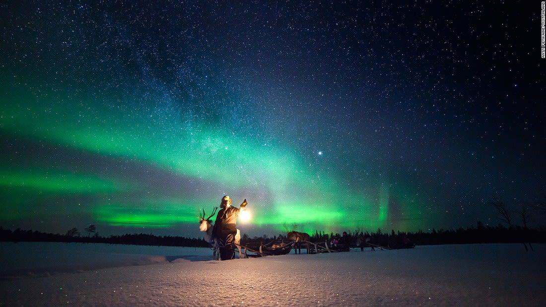 best northern lights Muonio Finland