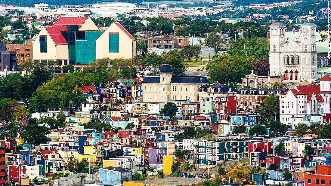 Colorful places St Johns Newfoundland