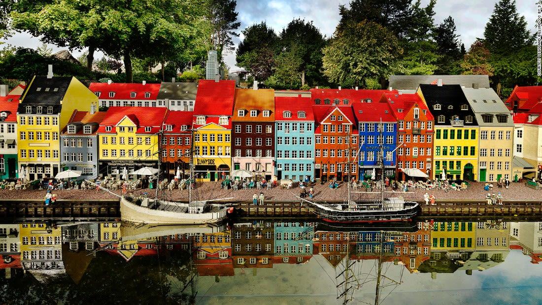 colorful places Legoland Billund