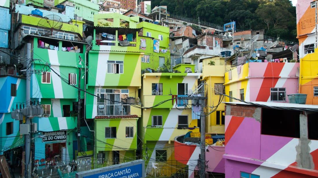 world most colorful places RIO DE JANEIRO