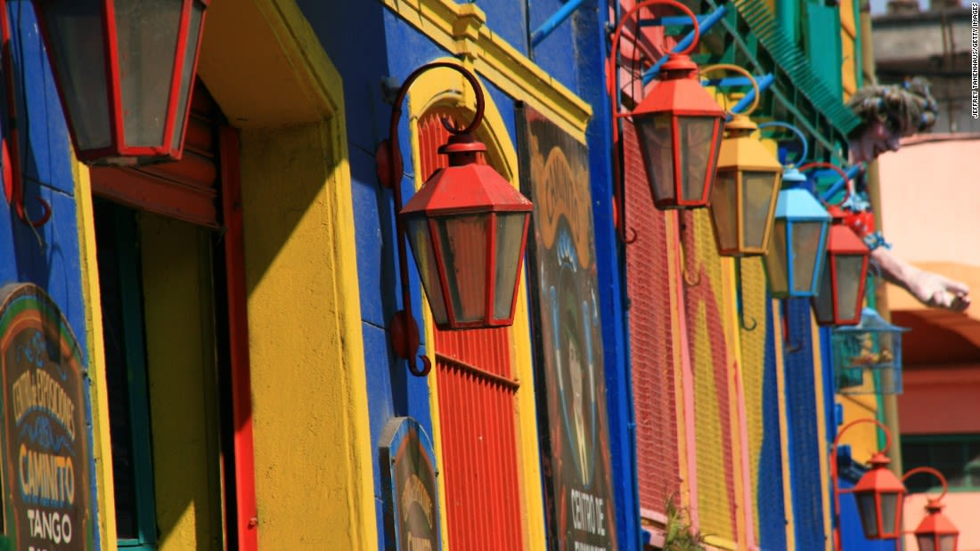 world most colorful places Buenos Aires