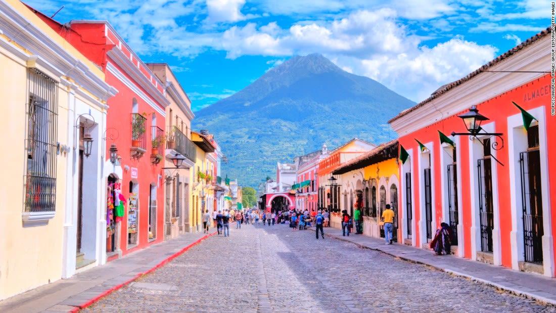world most colorful places Antigua Guatemala