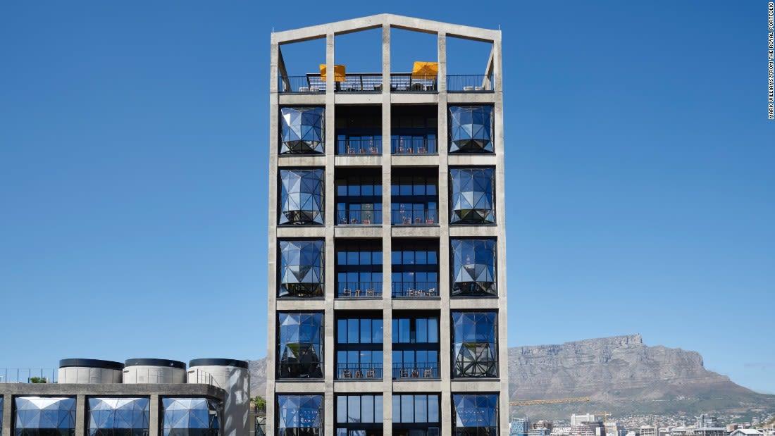 penthouse suites the silo exterior