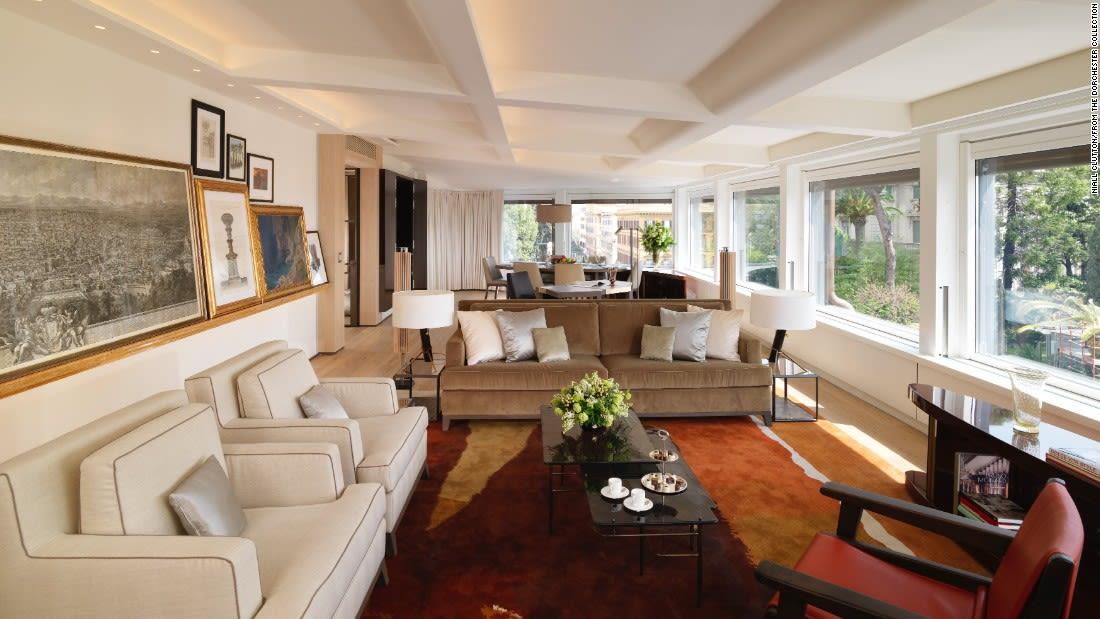 penthouse suites bellavista hotel eden rome
