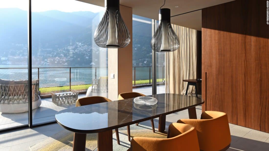 penthouse suites il sereno living room