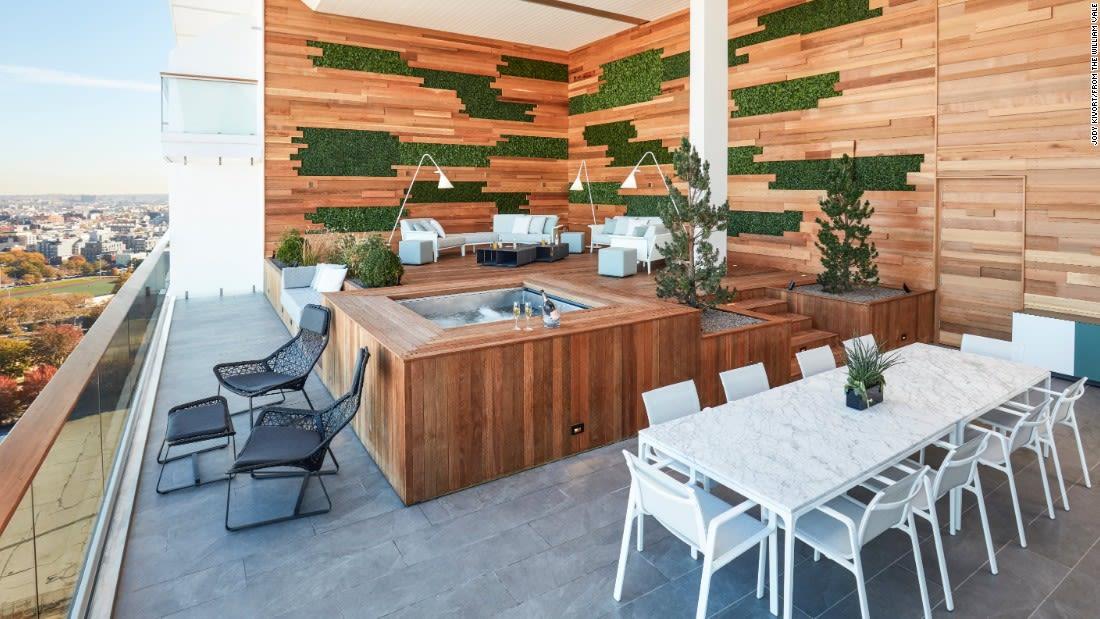 penthouse suites william vale hot tub