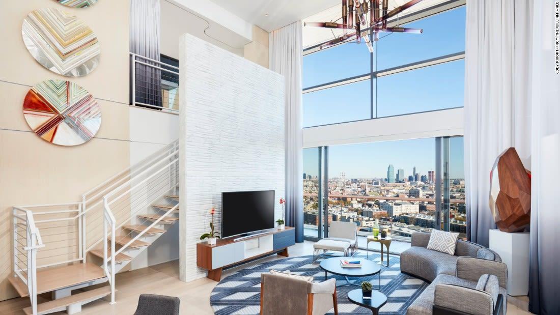 penthouse suites william vale living room