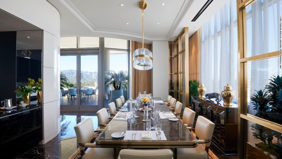 penthouse suites waldorf beverly hills