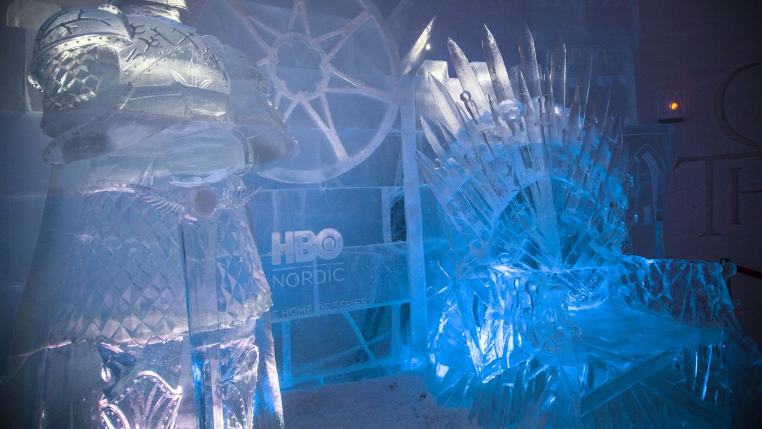lapland hotels snowvillage got ironthrone2