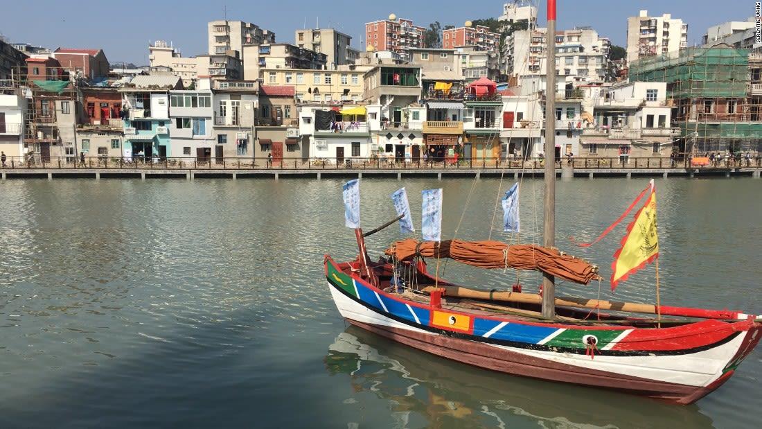 Xiamen China hip destination-old ship