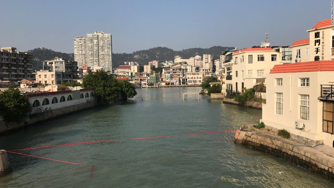 xiamen China his destination-Shapowei area