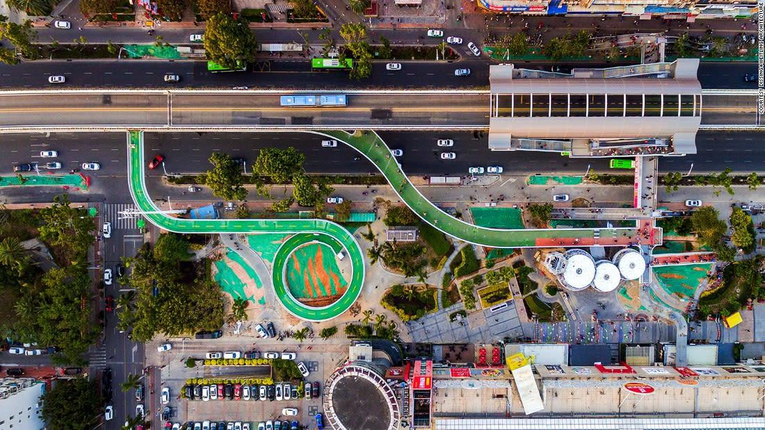DW-Xiamen-Cycling Skyway Drone-Mall