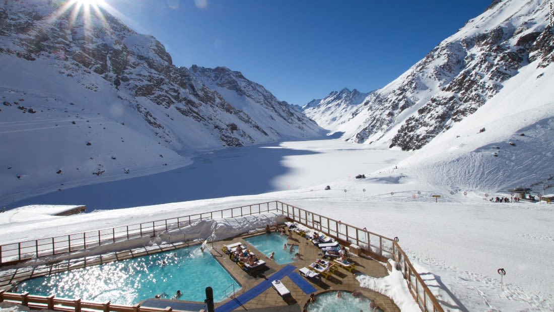 spectacular pools portillo chile