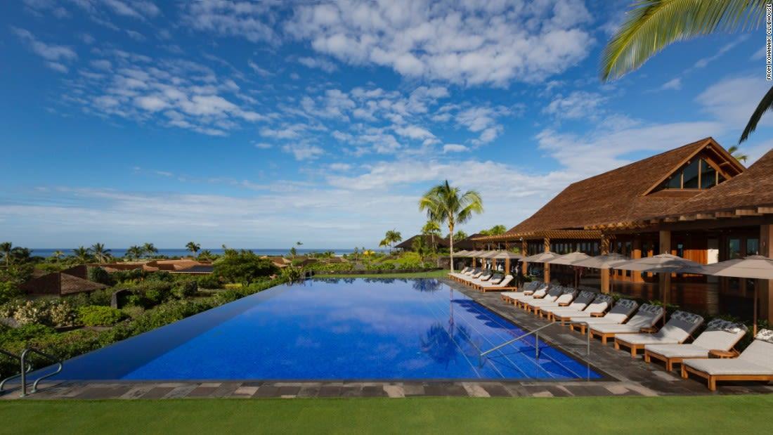 spectacular pools kohanaiki hawaii day