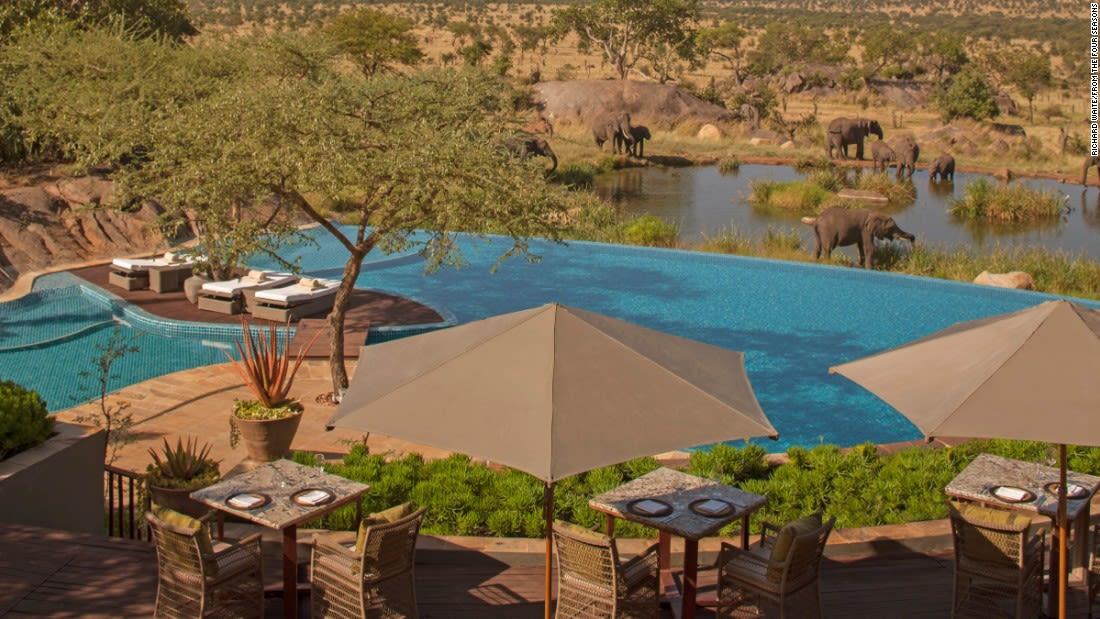 spectacular pools four seasons serengeti