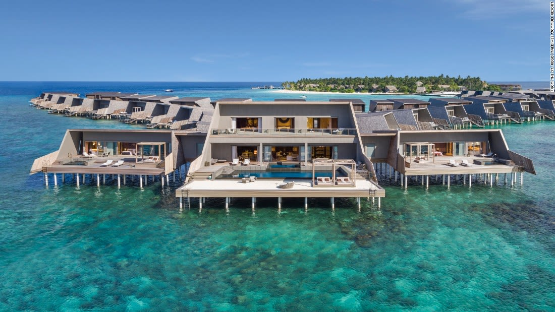 spectacular pools st regis maldives john jacob astor estate