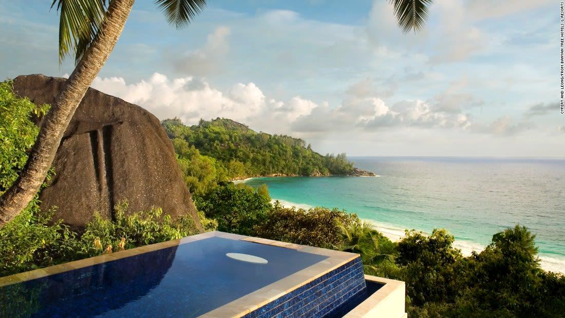 spectacular pools banyan tree seychelles
