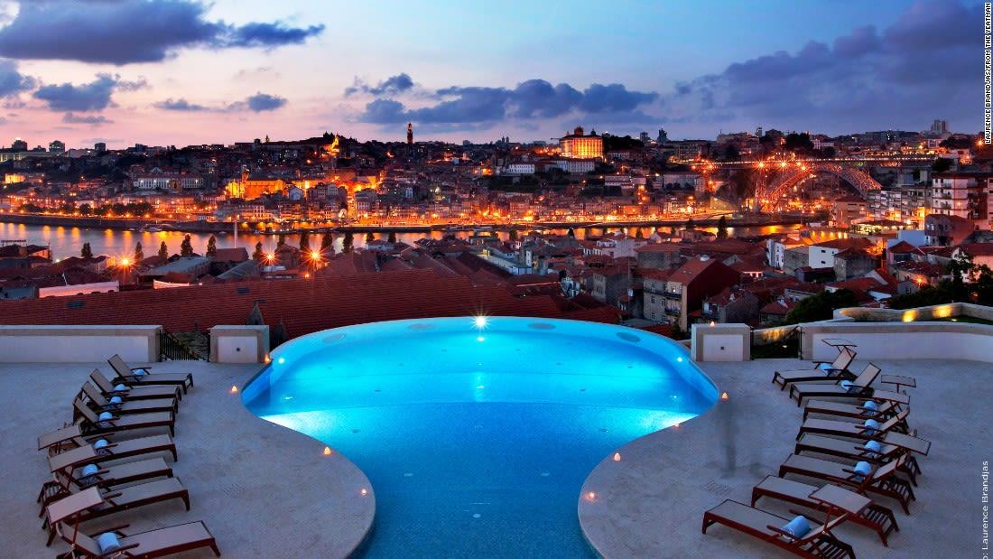 spectacular pools porto portugal yeatman