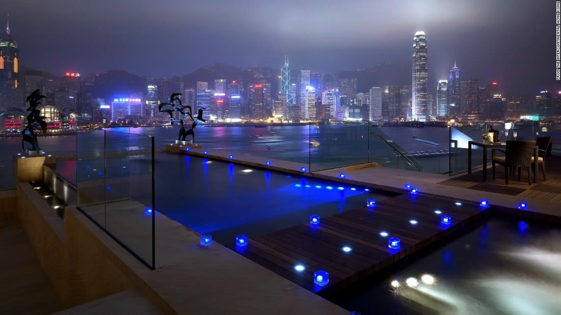 spectacular pools intercontinental hong kong