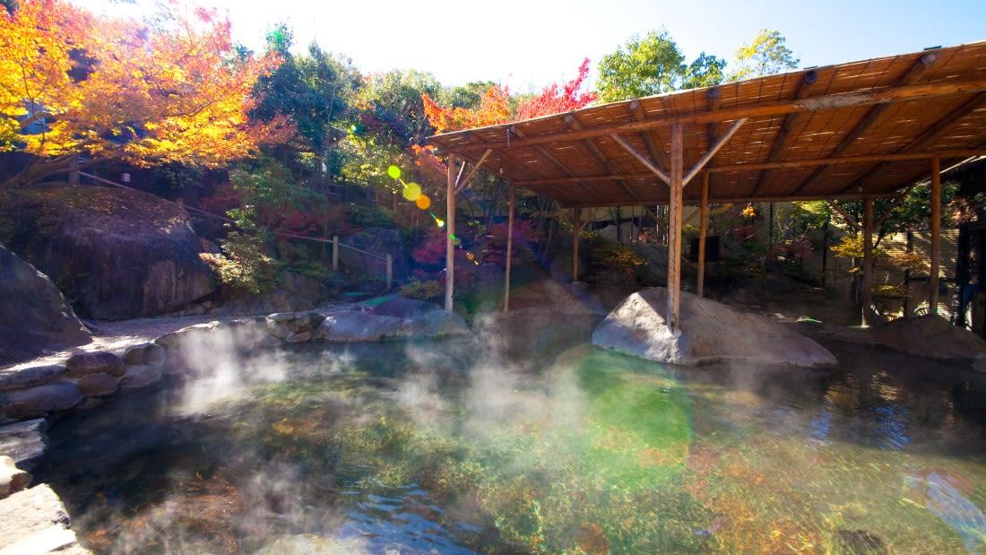 spectacular pools Kanairo onsen