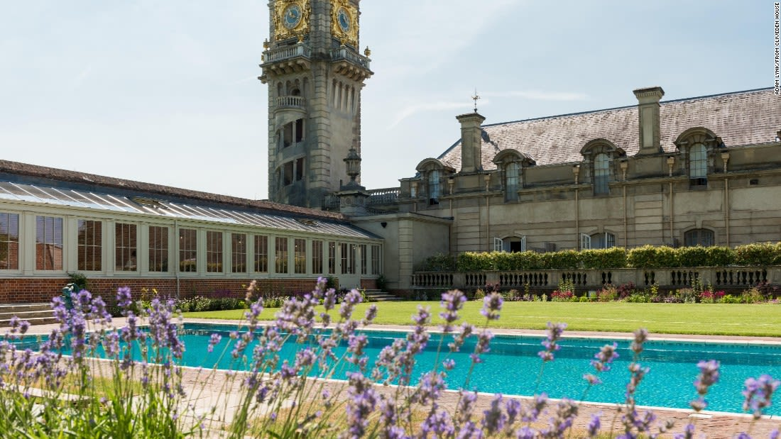 spectacular pools cliveden house