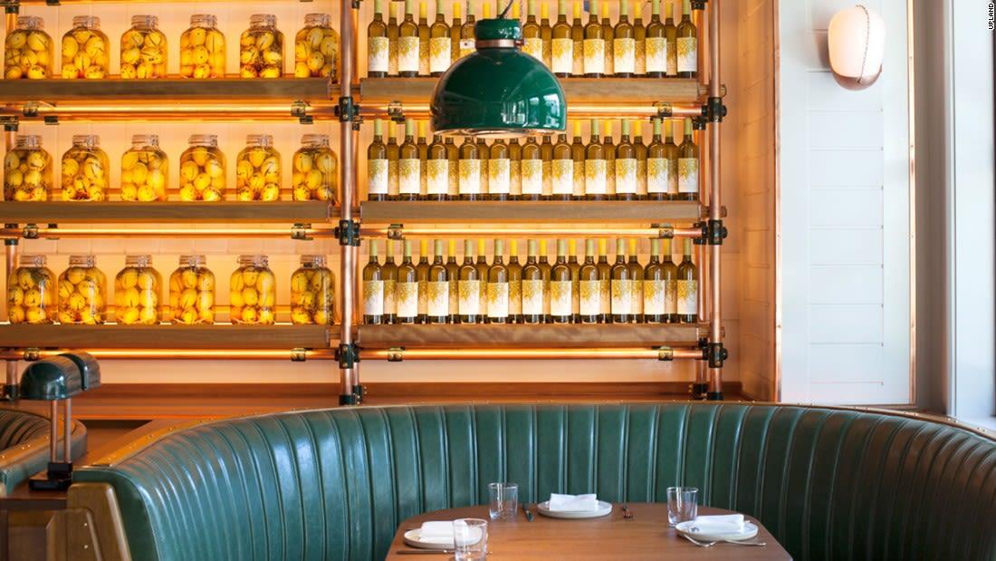 NYC restaurants in Miami Upland interior