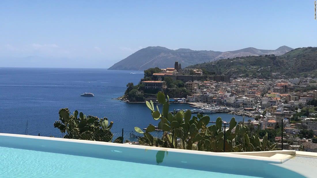 Aeolian-Islands---Lipari-fortress-and-harbour---Silvia-Marchetti