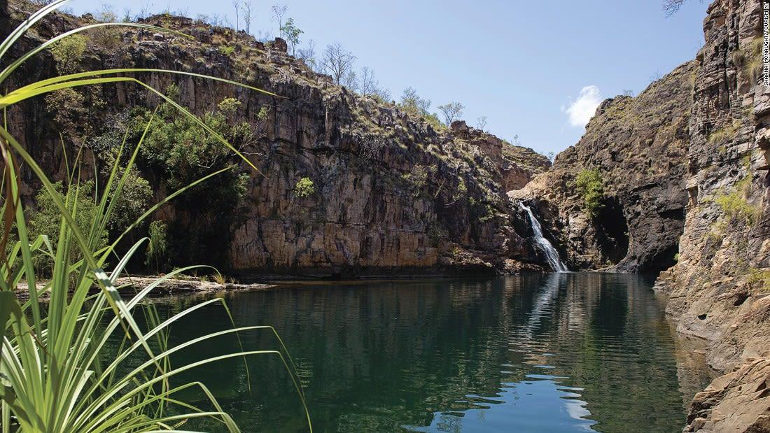 Australia Kakadu Maguk, Kakadu National Park 121481-3