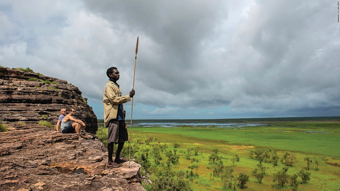Australia Kakadu Nadab Lookout, Ubirr Rock 122330-3