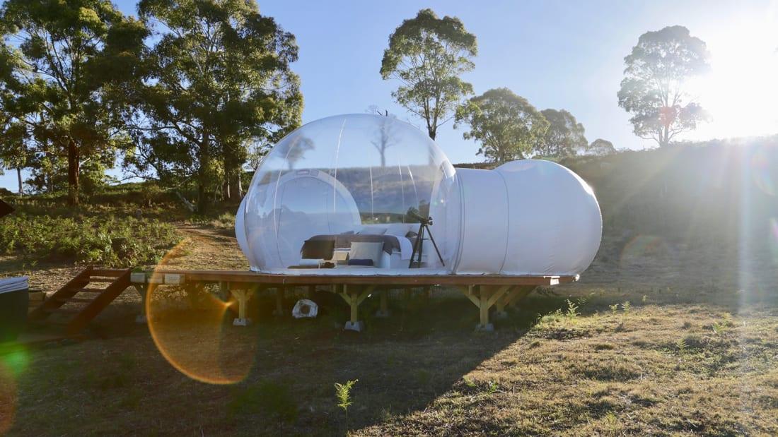 Australia bubbletent Virgo