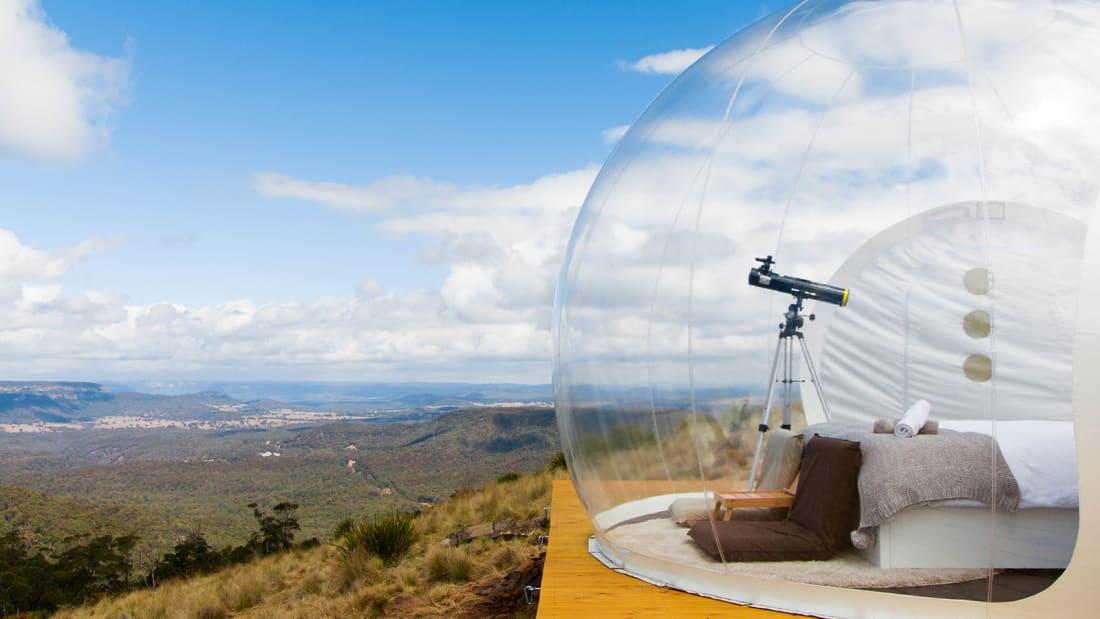 Australia bubbletent Leo.originaltent Credit Mayumi Iwasaki