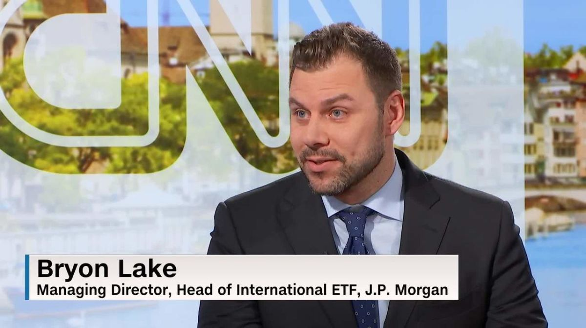 ETFs are robust and can resist market corrections, argues J P  Morgan's  Bryon Lake