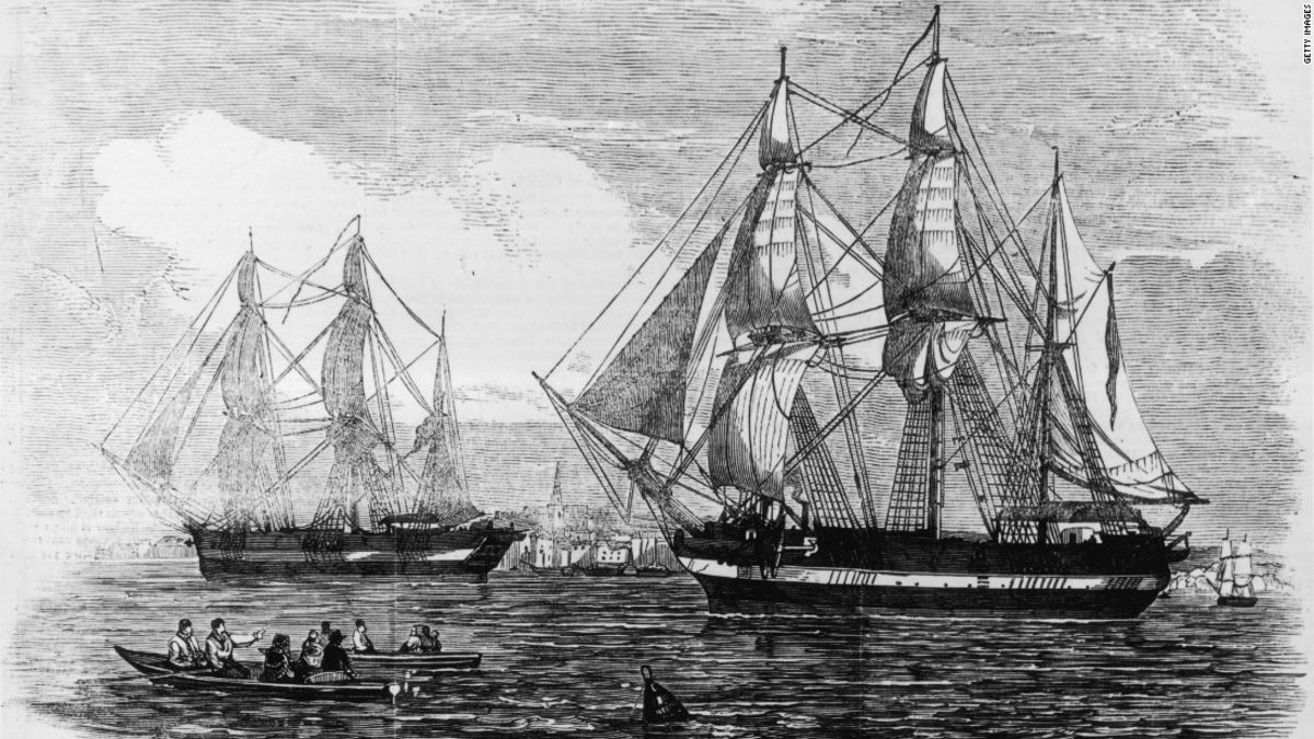 HMS Terror: 'Ghost ship' found in Arctic