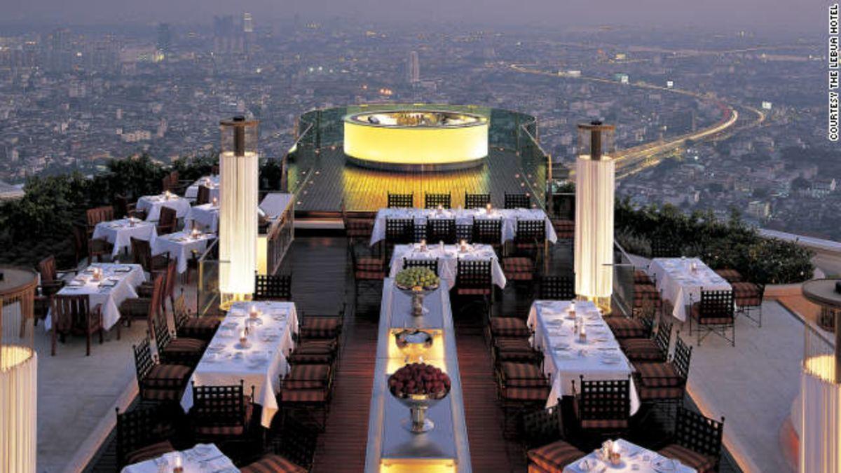 Bangkok Dining Best Sky High Restaurants Cnn Travel