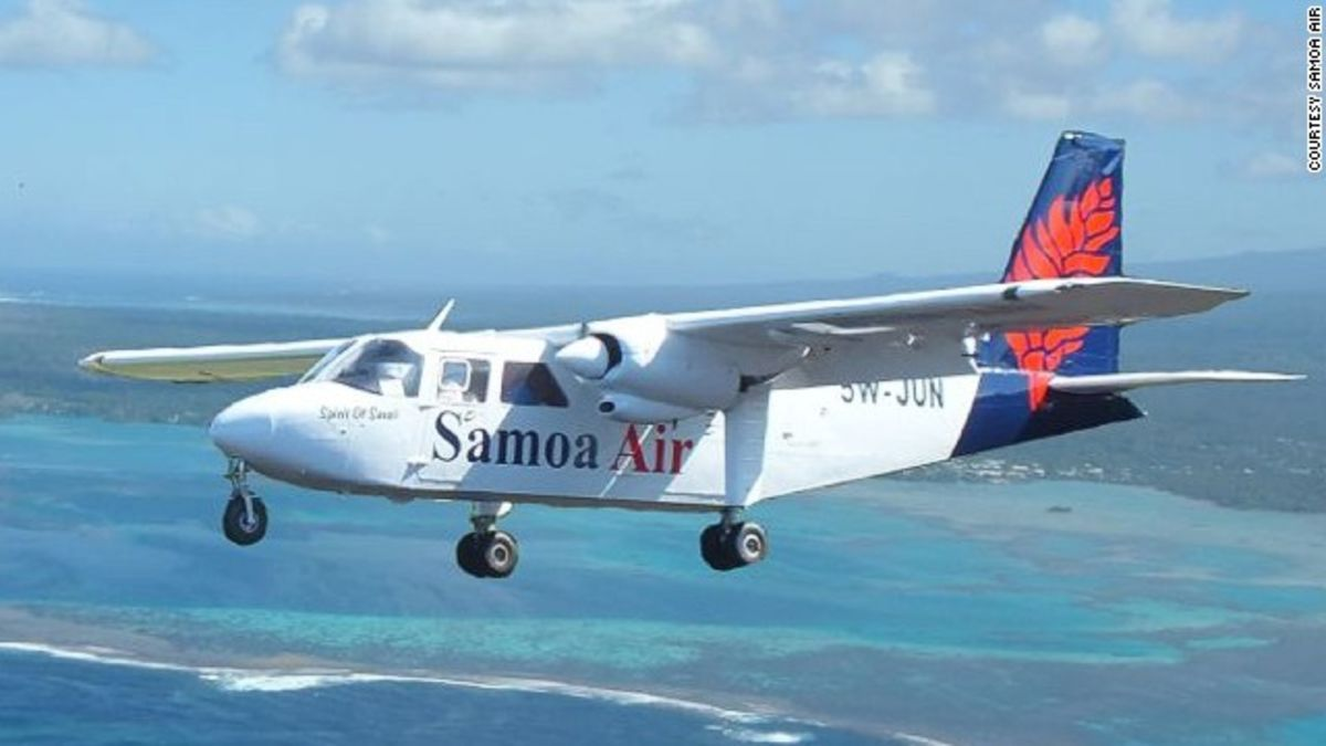 Samoa Air to Passengers: Pay What You Weigh picture