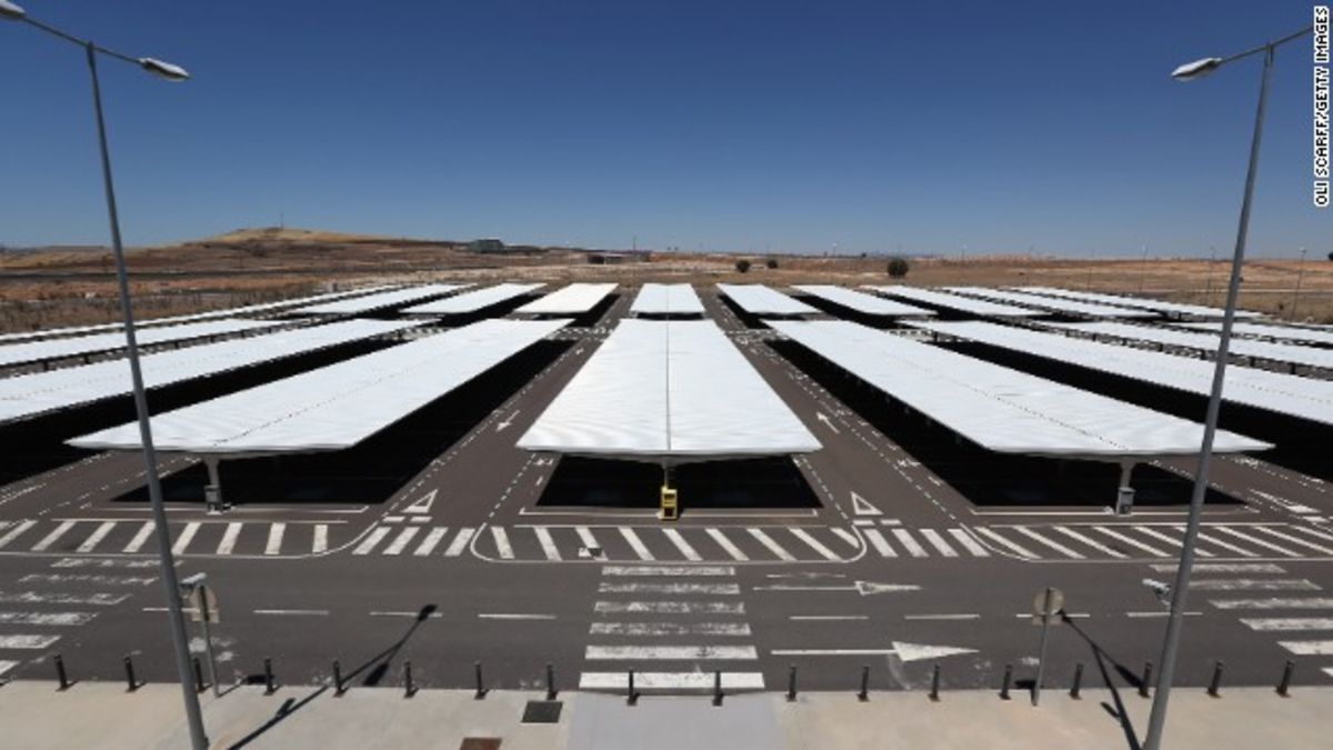 Spanish 'ghost airport' goes on the block | CNN Travel