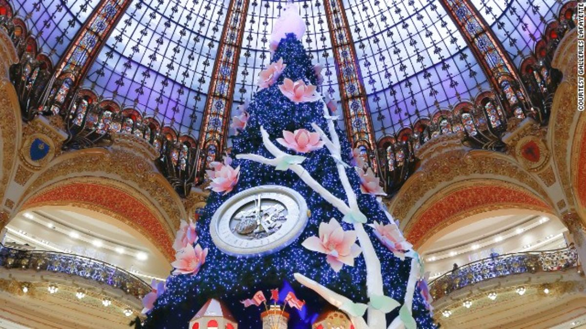 12 of the world s most spectacular christmas trees cnn travel