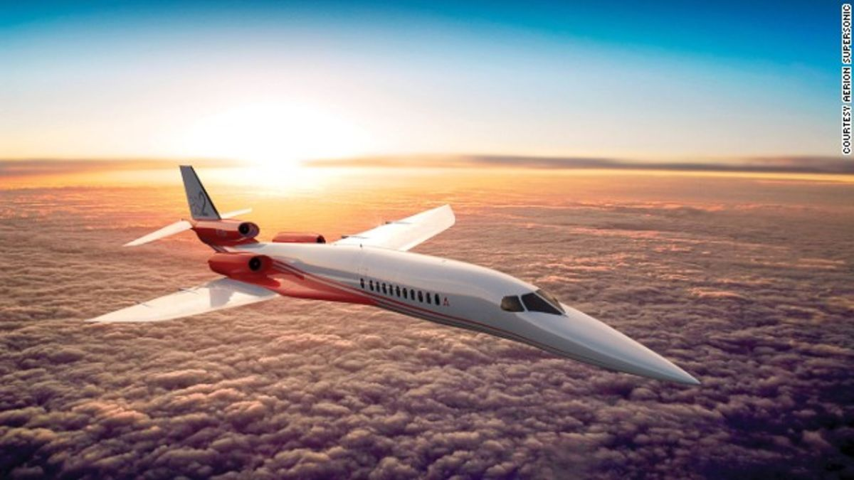 Airbus to help develop first supersonic business jet